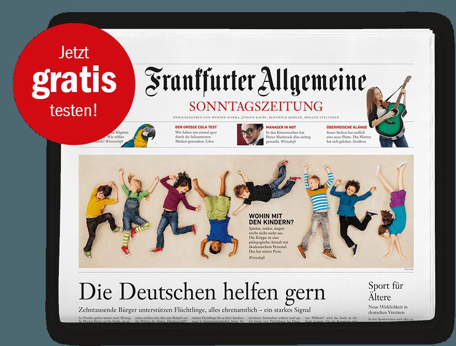 F.A.Z Sonntagszeitung