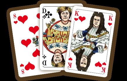 Exklusive Skat-Kartenspiele, gestaltet von Greser und Lenz!