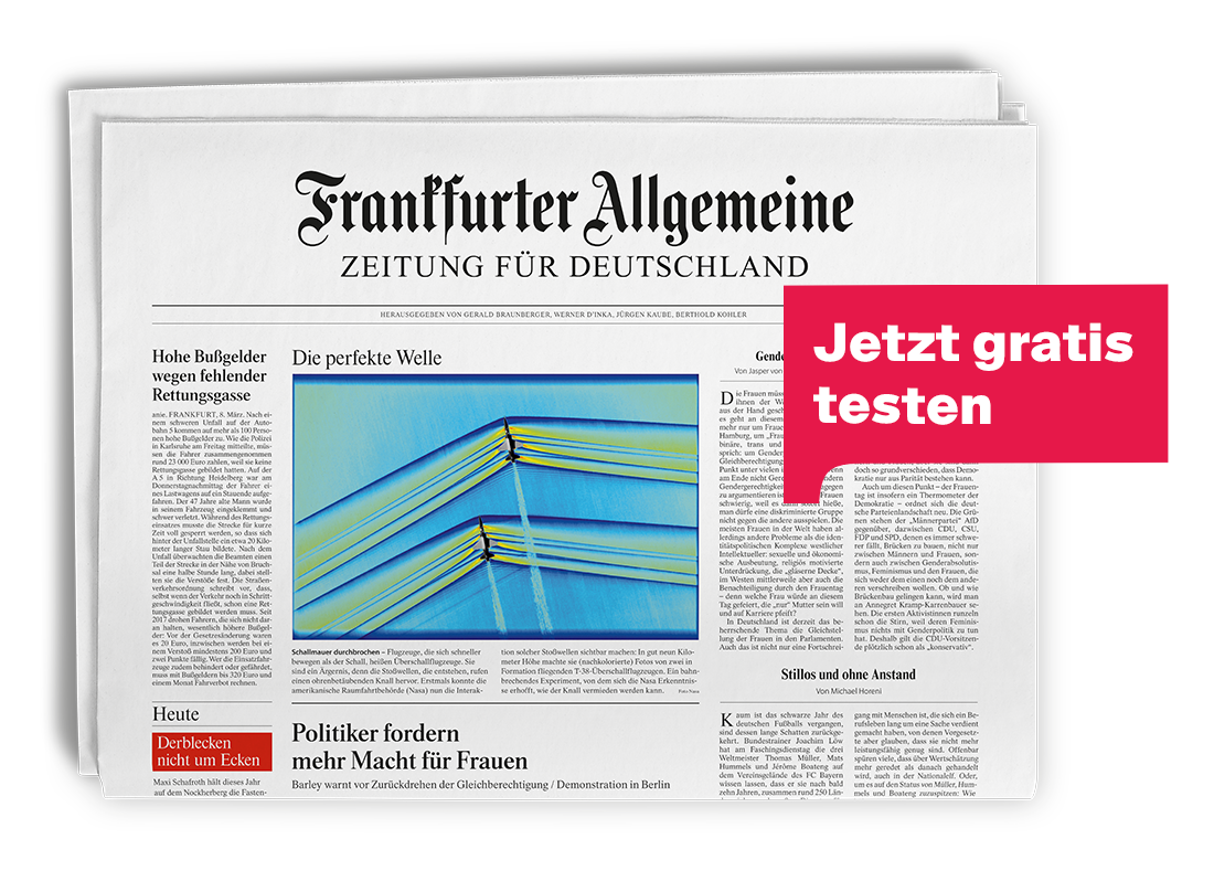 F.A.Z Zeitung